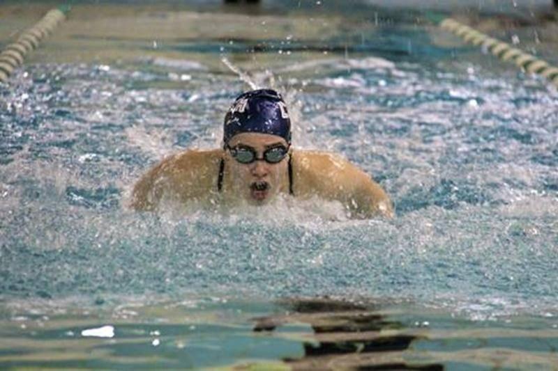 Emma Lamontagne a été nommée nageuse de l'année pour la région Richelieu-Yamaska.