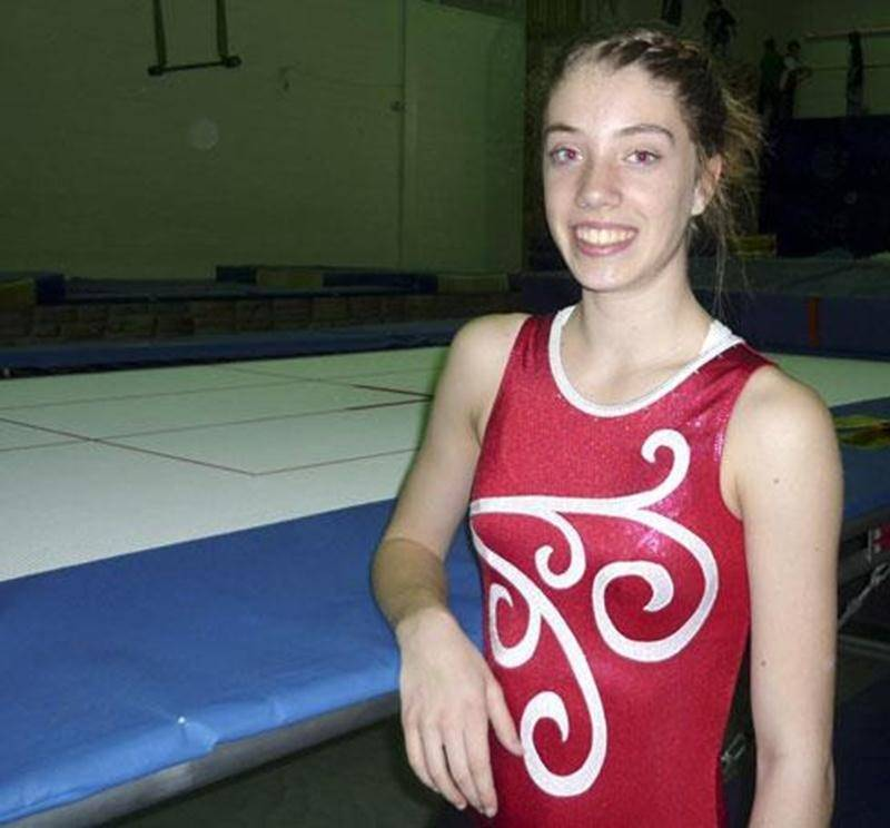 Amélie Pietroniro-Savoie s'envolera demain à destination de Houston afin de participer à un camp de perfectionnement de trampoline.
