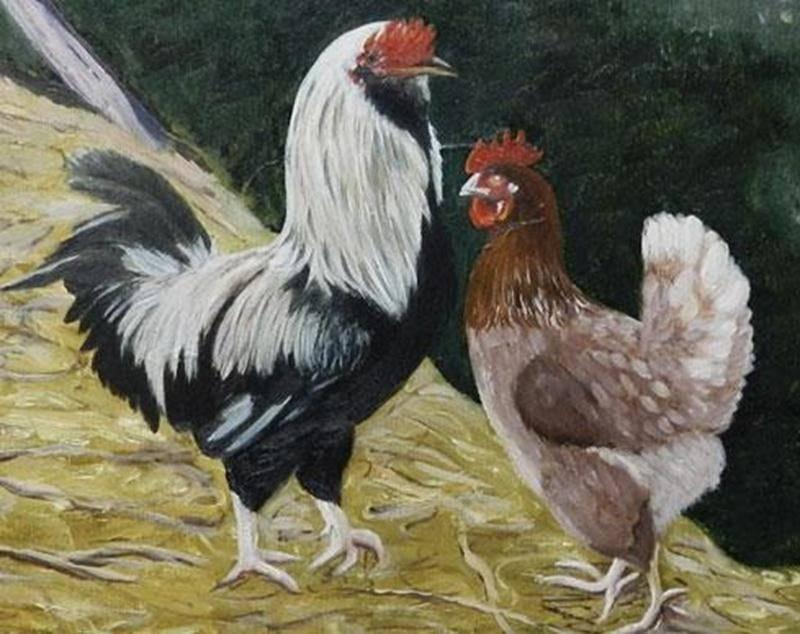 Les élèves de l'artiste-peintre et professeure Doris Chassé présentent l'exposition <em>Animaux de ferme</em> dans l'aire du dîner du Marché public de Saint-Hyacinthe jusqu'au 4 mai. Réalisées par des jeunes de 8 à 14 ans, les oeuvres ont été conçues dans le cadre des cours de l'Atelier Libre de Peinture de Saint-Hyacinthe. Pour information, on peut contacter Doris Chassé par courriel à l'adresse art@dorischasse.com ou par téléphone au 450 250-6874.