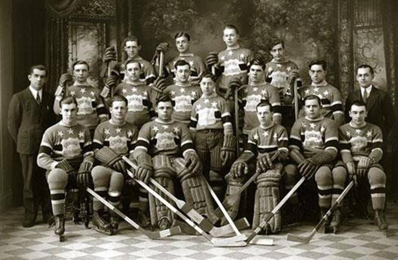 L'équipe Saint-Hyacinthe Autoparts en 1932
