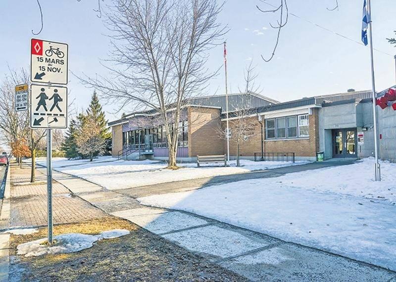 Nouvelle enveloppe extérieure pour l'école Sacré-Cœur