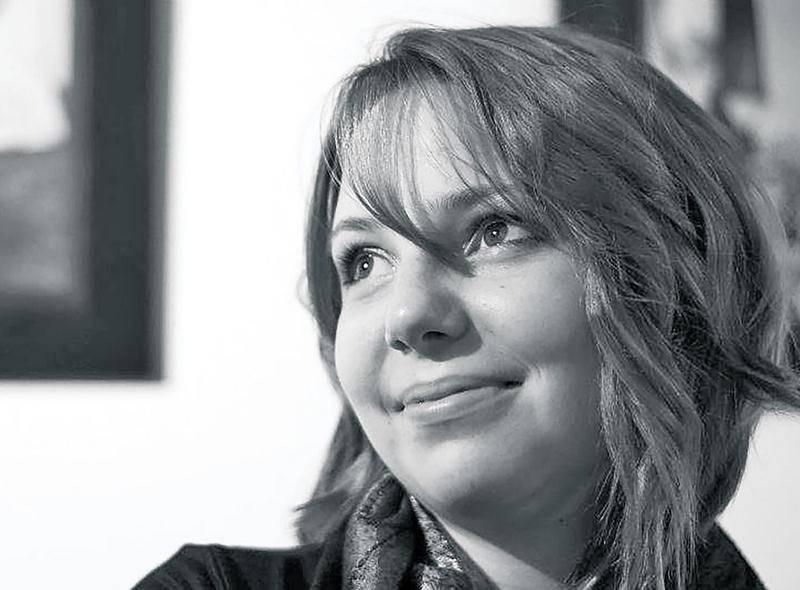 Andréanne Rioux présente son exposition D'ombre et de lumière à la Biliothèque T.-A.-Saint-Germain jusqu'au 30 mai.