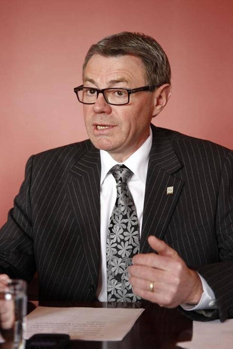 Claude Corbeil, maire de Saint-Hyacinthe.