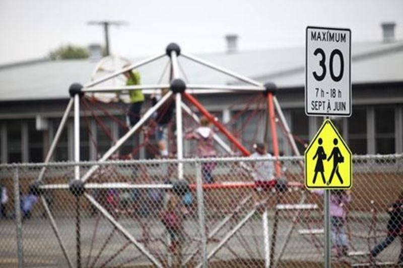 Depuis le 1<sup>er</sup> septembre, la vitesse est limitée à 30 km/h près des écoles de Saint-Hyacinthe.