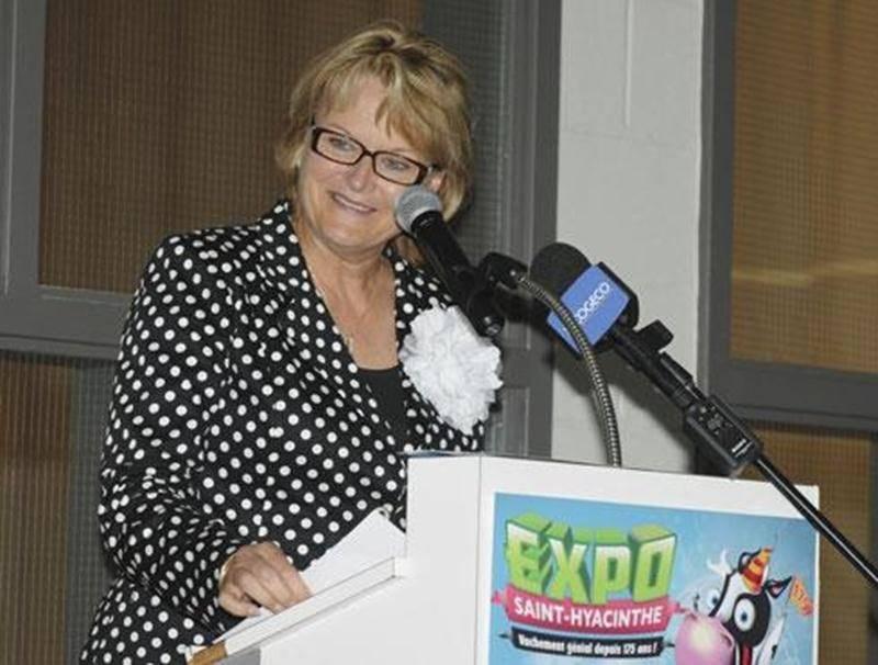 Nicole Ménard, ministre du Tourisme et ministre responsable de la région de la Montérégie.