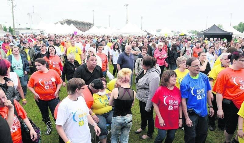 Plus de 980 personnes ont pris le départ. Photos Robert Gosselin | Le Courrier ©