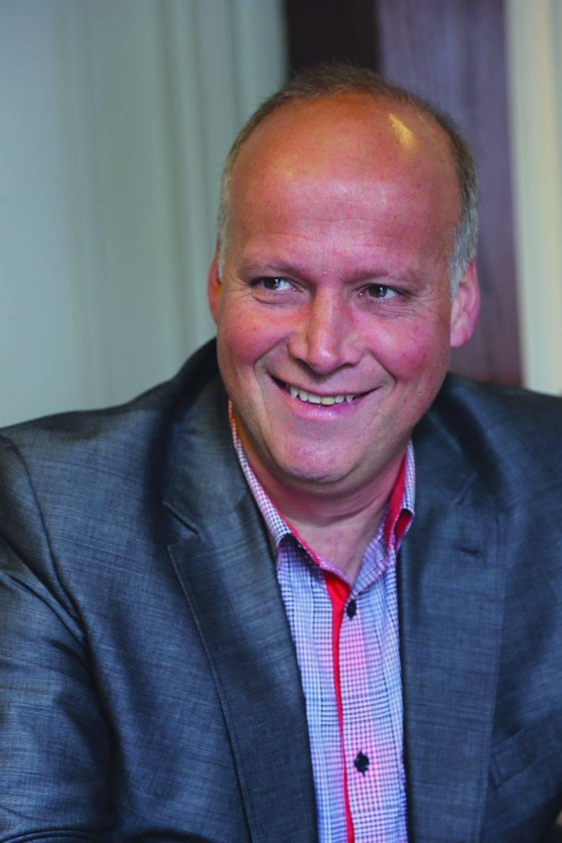 Simon Giard terminera son mandat de président de la Chambre de commerce de la grande région de Saint-Hyacinthe le mardi 6 juin, journée de l'Assemblée générale annuelle de l'organisme. Photo Robert Gosselin | Le Courrier ©