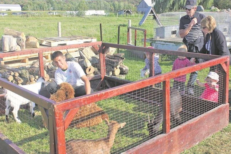 La ferme La Rabouillère de Saint-Valérien-de-Milton faisait partie des 20 fermes qui ont ouvert leurs portes aux visiteurs le dimanche 10 septembre.
