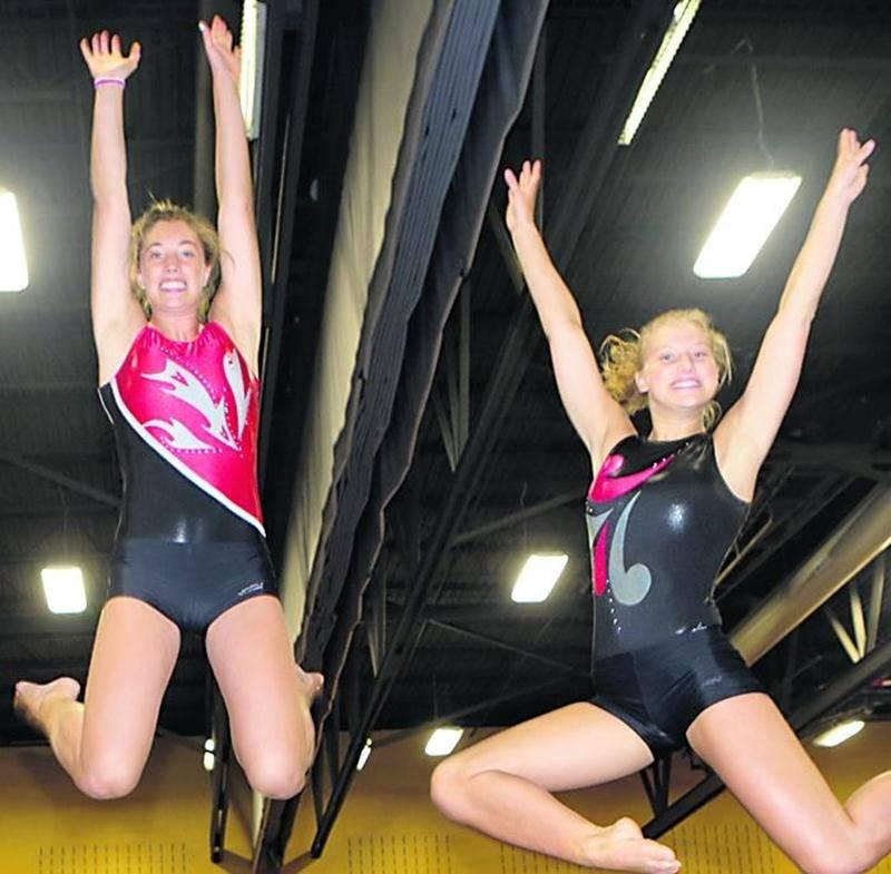 Amélie et Stéphanie sont toujours dans la course pour obtenir une place au sein d'Équipe Québec après la première étape de sélection en vue des Jeux du Canada.  Photothèque | Le Courrier ©