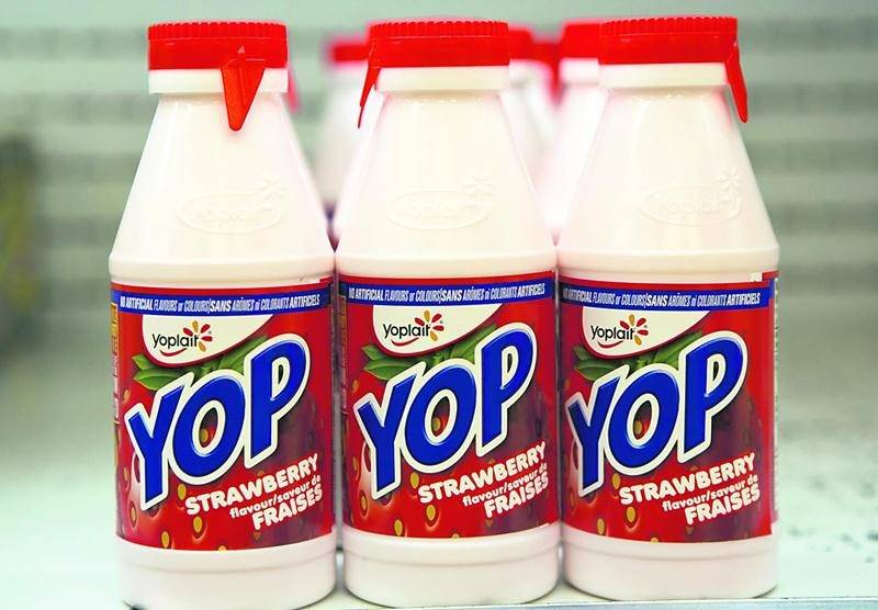 La production de Yop devrait être transférée à l'usine Liberté de Saint-Hyacinthe dès mars 2015. Photo Robert Gosselin | Le Courrier ©