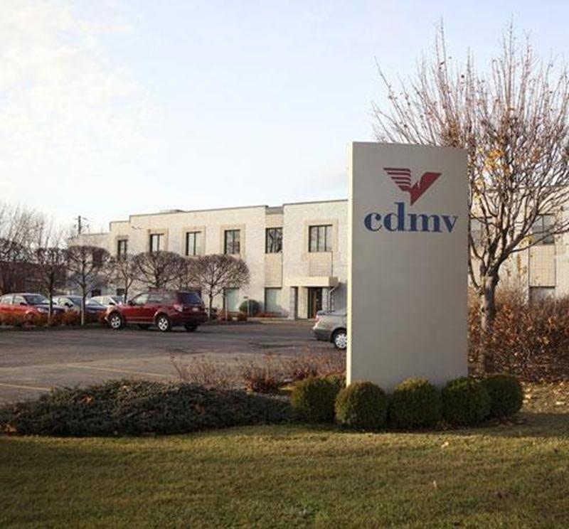 Le siège social du CDMV situé sur le boulevard Choquette à Saint-Hyacinthe.