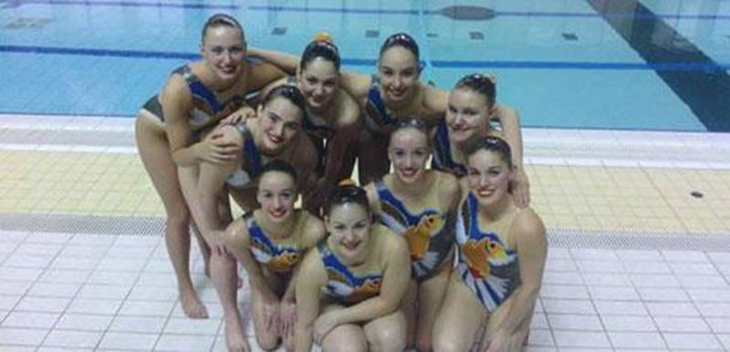 L'équipe performance des Vestales a remporté le bronze au Championnat canadien de qualification.