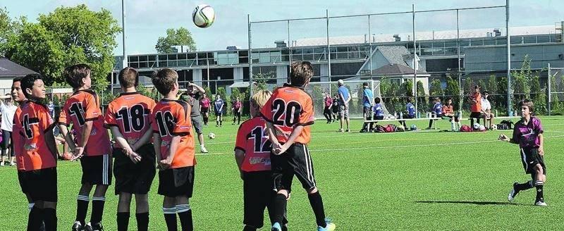 34 équipes s'étaient qualifiées dans différentes catégories pour participer à la Coupe Saint-Hyacinthe.Photo François Larivière | Le Courrier ©