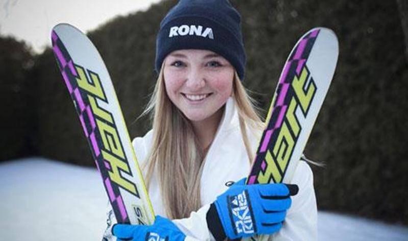 Katrine Bazinet aura le privilège d'ouvrir la piste à l'élite mondiale du ski de bosses, cette fin de semaine, au Mont-Gabriel.