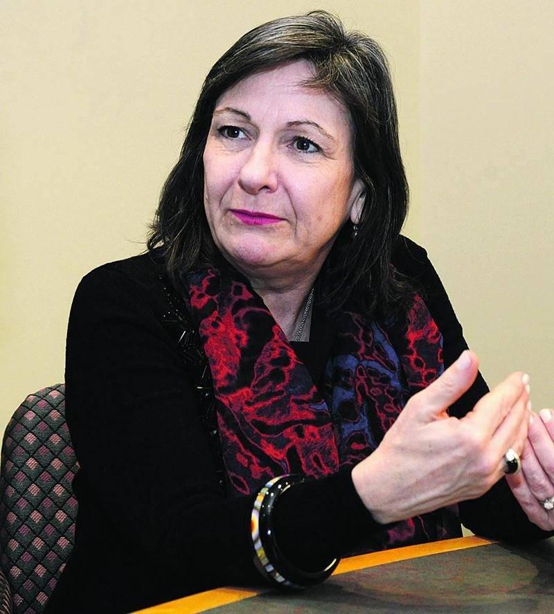 Louise St-Pierre, présidente et chef de la direction de Cogeco Câble Canada. Photo François Larivière | Le Courrier ©