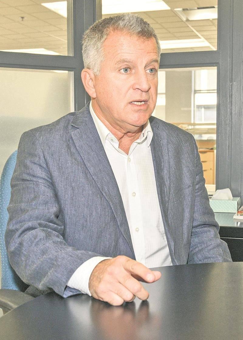 Bernard Barré compte bien conserver son fauteuil de conseiller du district La Providence.  Photo François Larivière | Le Courrier ©