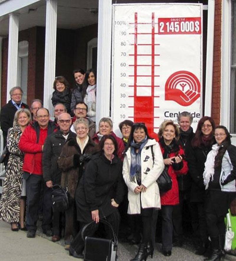 Les 17 organismes maskoutains partenaires de Centraide Richelieu-Yamaska ont profité de la Journée mondiale de la philanthropie pour se réunir au siège social de Centraide à Saint-Hyacinthe.