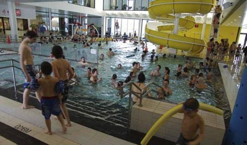 Le Centre aquatique Desjardins a reçu la visite de 5 781 baigneurs durant la semaine de relâche.