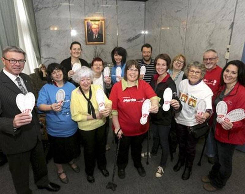 La division Saint-Hyacinthe-Acton de la Société canadienne de la sclérose en plaques souhaite amasser un montant de 30000$ avec la Marche de l'espoir.