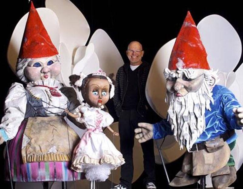 Richard Blackburn, directeur artistique et metteur en scène du Théâtre de la Dame de Coeur attend les petits et les grands à Upton cet été.