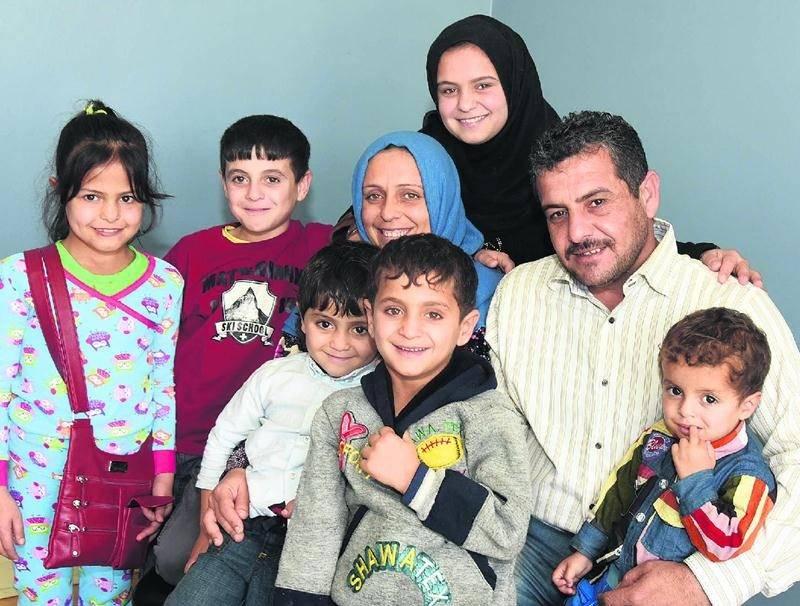 C'est avec confiance et bonheur que la famille du Syrien Raed Ahamd Al Shebli entreprend un nouveau départ à Saint-Hyacinthe. Photo François Larivière | Le Courrier ©