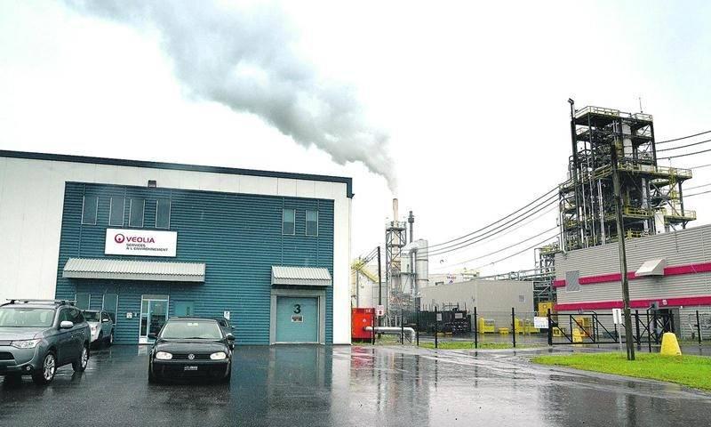 L'usine Veolia de Saint-Hyacinthe. Photothèque | Le Courrier ©