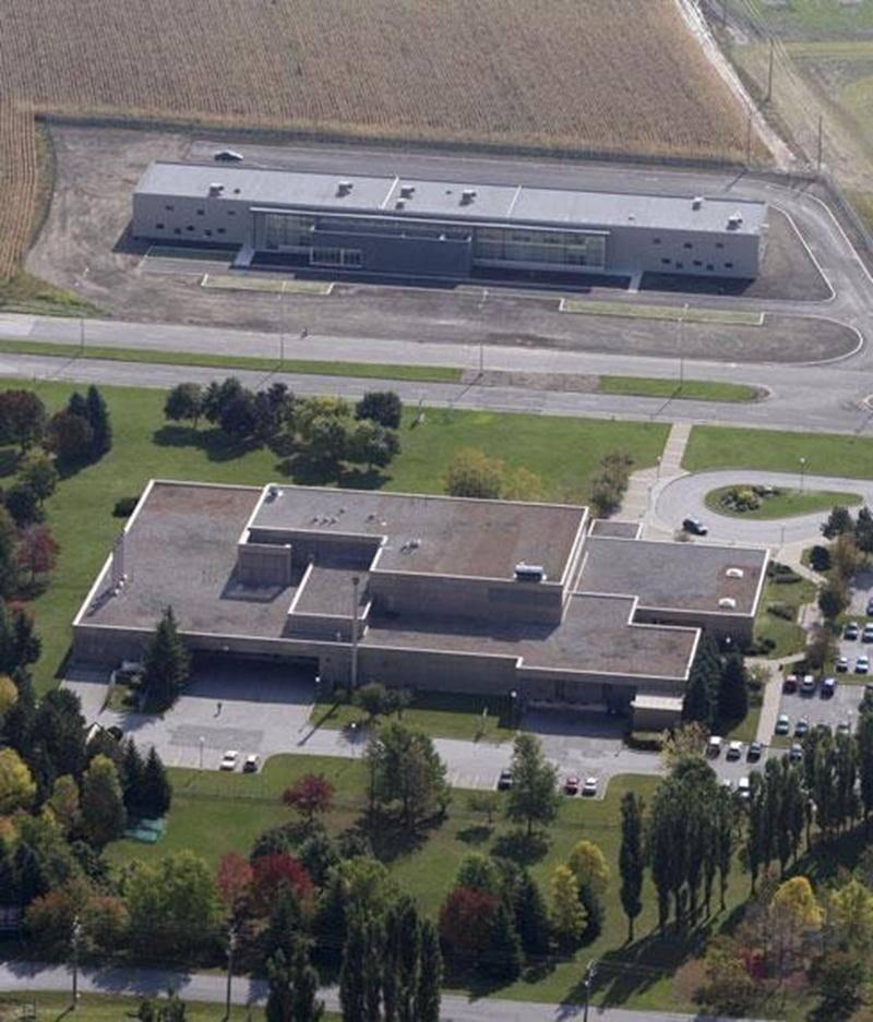 La Cité de la biotechnologie agroalimentaire, vétérinaire et agroenvironnementale de Saint-Hyacinthe.