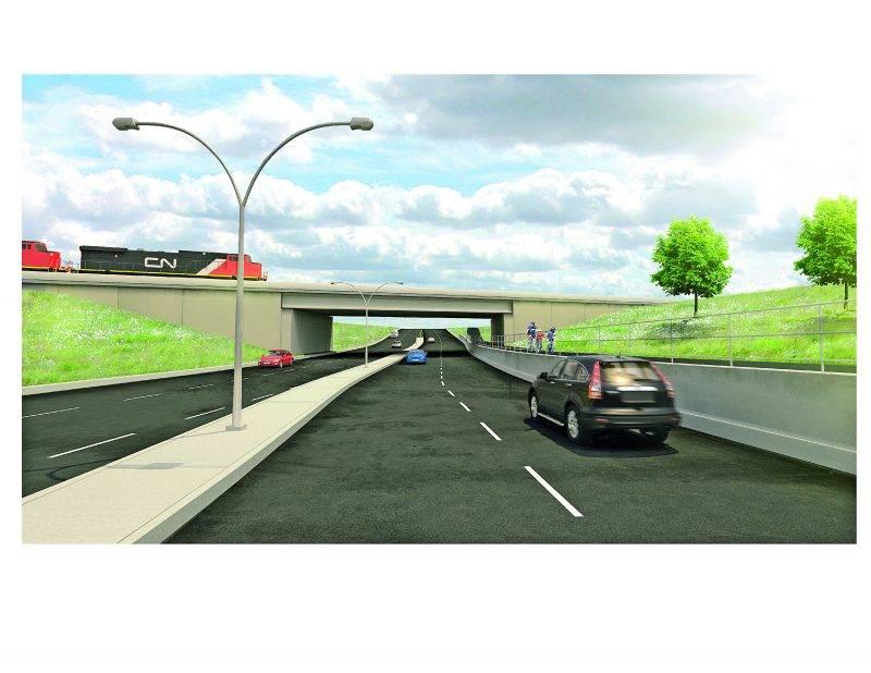 Saint-Hyacinthe pourrait n'obtenir que 8 M$ en subventions pour son tunnel Casavant, ce qui lui laisserait une facture de 24 M$.