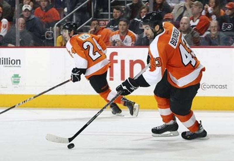 Le Maskoutain Marc-André Bourdon a signé une nouvelle entente de deux ans avec les Flyers de Philadelphie, l'équipe qui l'a repêché au troisième tour en 2009.