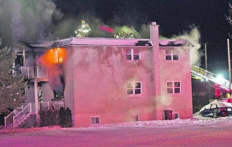 L'incendie se serait déclaré dans la chambre où se trouvait Michaël Pellerin, vers 16 h 45 le 6 janvier.Photo Bruno Beauregard