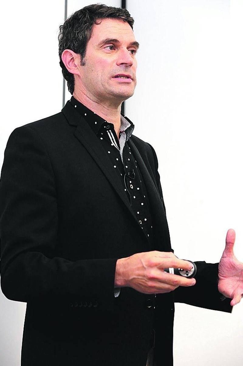 Bernard Serge Gagné, du bureau d'architectes ABCP. Photo Robert Gosselin | Le Courrier ©