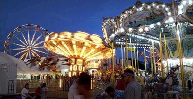 Féerie de lumière à l'Expo de Saint-Hyacinthe.