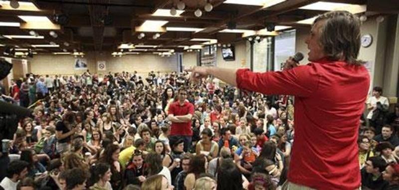 À l'image de celles du printemsp dernier, les prochaines assemblées étudiantes du Cégep de Saint-Hyacinthe pourraient être animées.