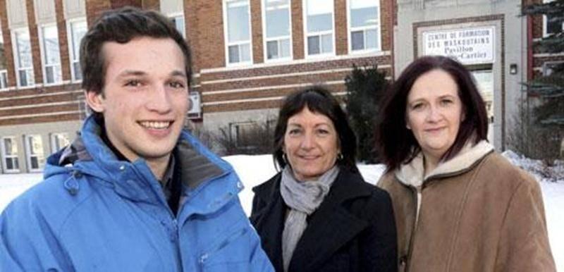 Félix Gratton, Lucienne Robillard et Nancy Therrien sont tous les trois retournés aux études afin d'entreprendre une nouvelle carrière.