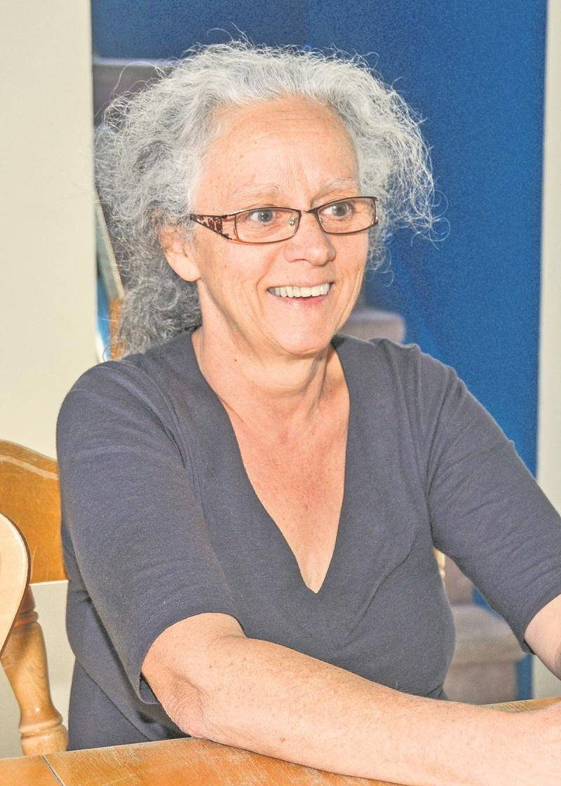 Danielle Pelland, candidate dans le district Sacré-Coeur.  Photo François Larivière | Le Courrier ©