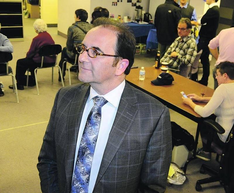 Le candidat bloquiste, Michel Filion. Photo François Larivière | Le Courrier ©