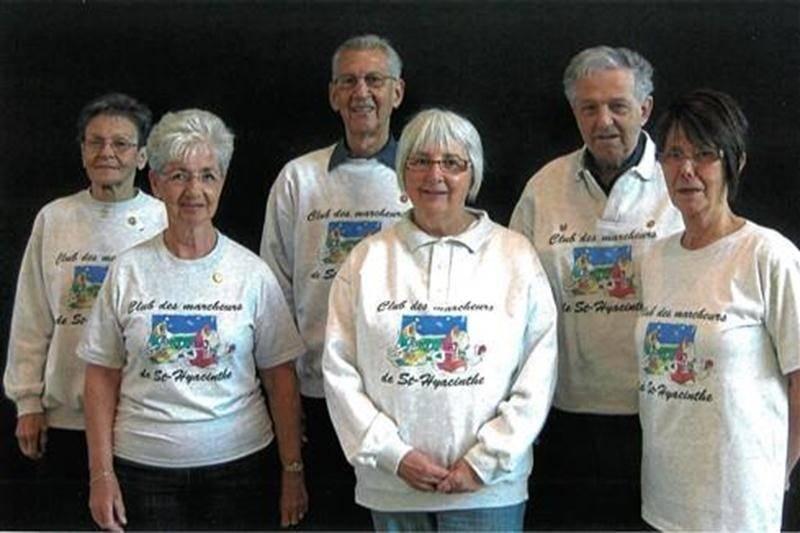 À la suite de l'assemblée générale annuelle du Club de marcheurs de Saint-Hyacinthe, voici les personnes qui forment le conseil d'administration pour la prochaine année. Sur la photo, à l'avant, de gauche à droite: Pierrette Binette, Louise Tanguay et Lisette Mignot. À l'arrière, dans le même ordre: Raymonde Ménard, Roger Binette et Alfred Tessier.
