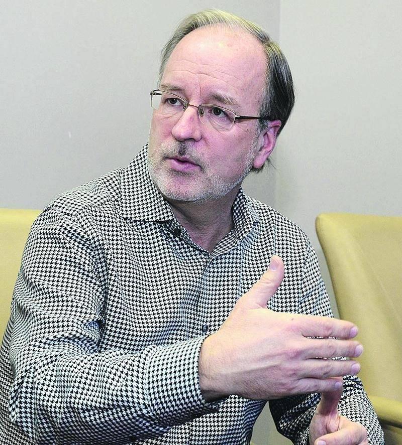 Jacques Taillefer, président-directeur général du Groupe Maskatel. Photothèque | Le Courrier ©