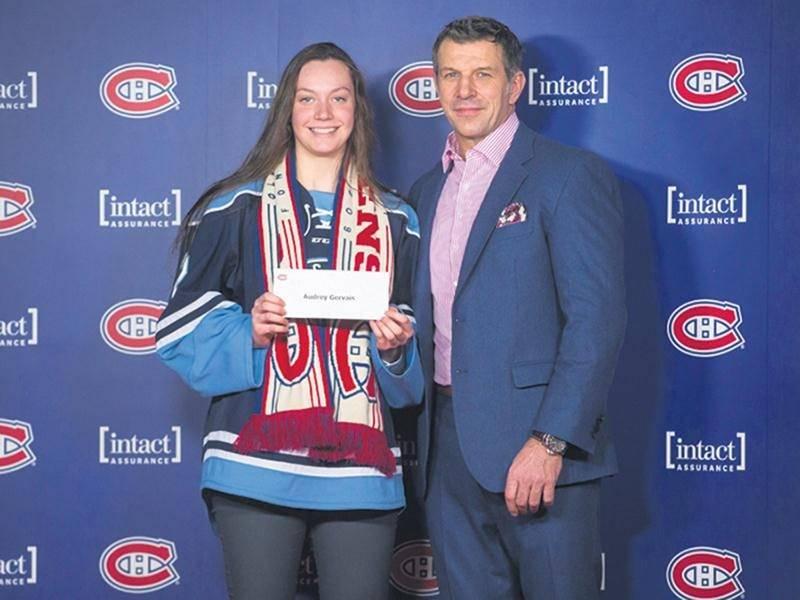 Audrey Gervais, boursière du Canadien de Montréal
