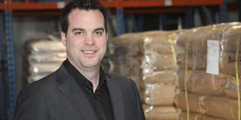 Martin Grégoire, dirigeant de l'entreprise DCL Nutrition + Santé Animale