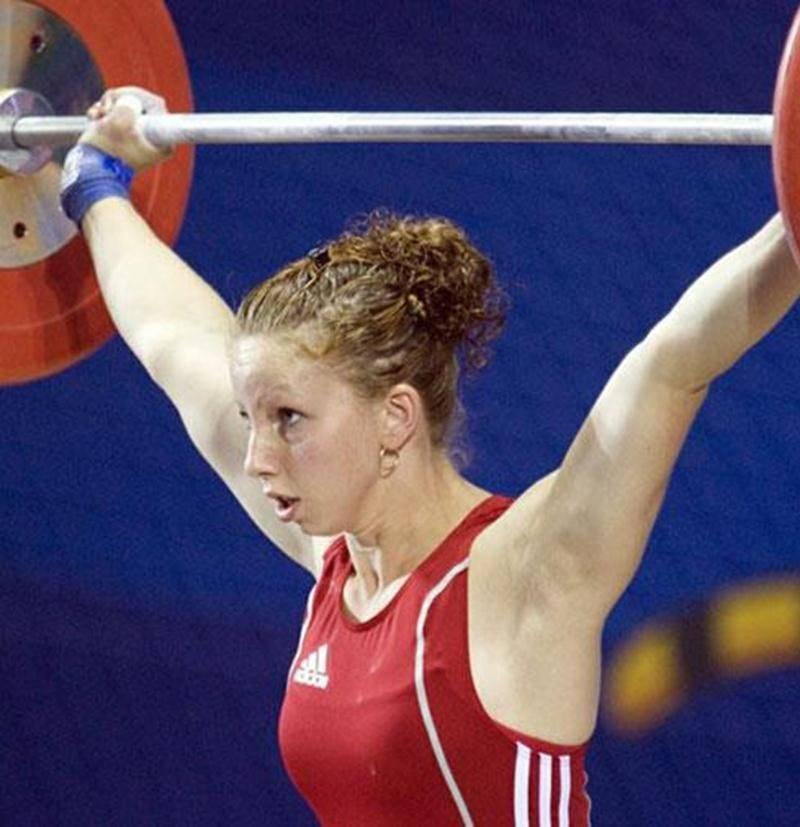 Annie Moniqui a supplanté sa marque personnelle de 7 kg, lors de la classique haltérophile, le 31 mars.