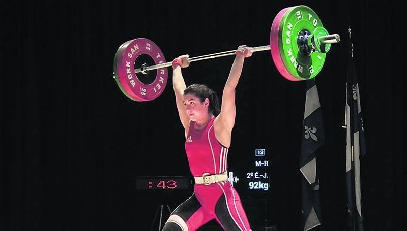 Tali Darsigny a gagné le Championnat provincial junior chez les 58 kg.