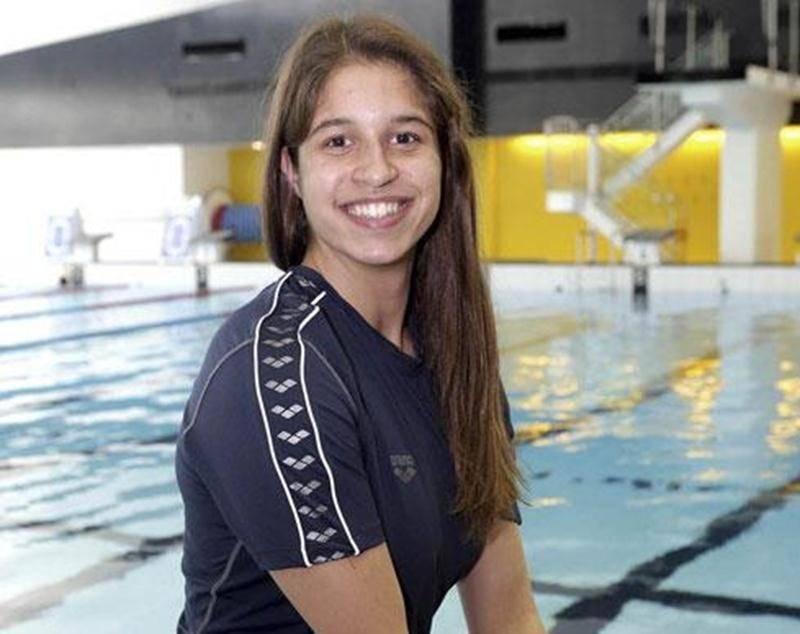 Maria-Klara Suciu a fait le plein d'expérience aux essais canadiens de natation au début du mois d'avril, à Victoria.