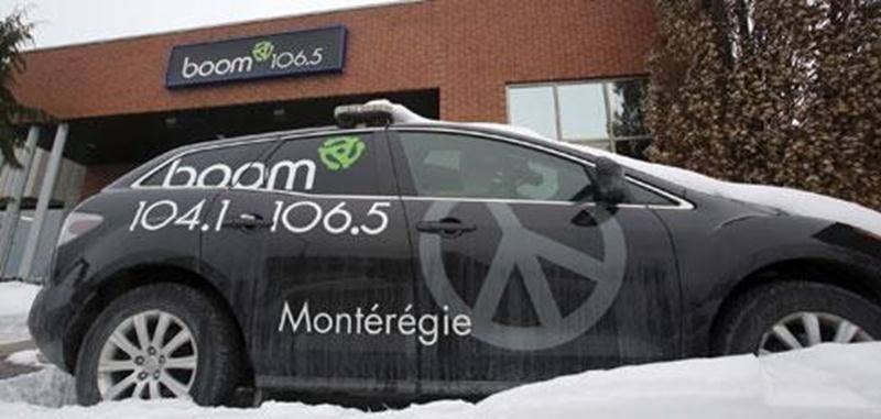 Remue-ménage et nouvelle programmation à la radio de Boom-Fm (106,5) à Saint-Hyacinthe et à Saint-Jean (104,1).