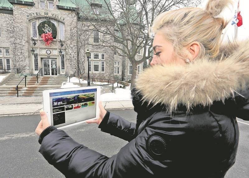 La refonte du site Internet de la Ville de Saint-Hyacinthe sera coordonnée par une firme de communications de Montréal puisqu'aucune firme locale n'a été invitée à soumissionner pour ce contrat.  Photo Robert Gosselin   Le Courrier ©
