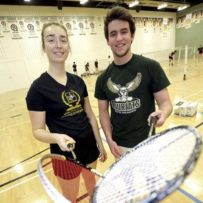 Myriam Proulx-Gamache et Mathieu Brodeur se sont illustrés au championnat régional collégial de badminton, terminant respectivement au premier et troisième rang en simple.