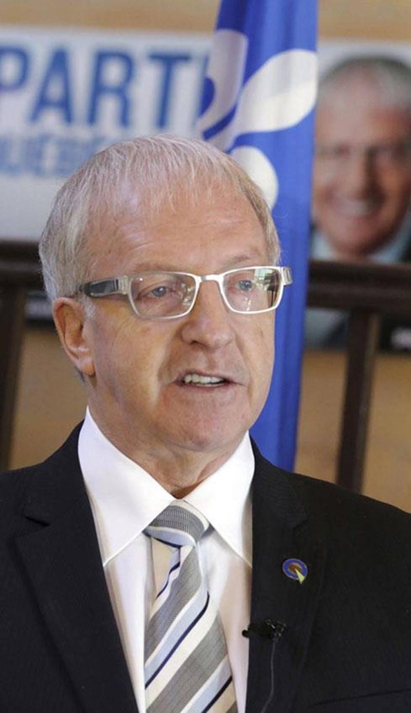 Le député sortant de Saint-Hyacinthe, Émilien Pelletier, candidat du Parti québécois dans la circonscription.
