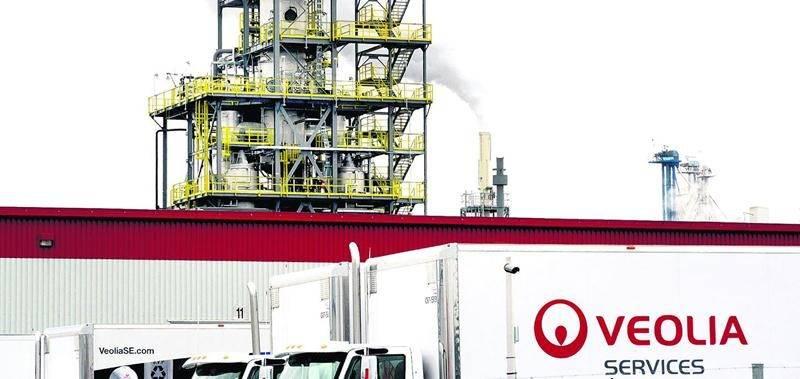 D'autres sanctions pour l'usine Veolia. Photothèque | Le Courrier ©