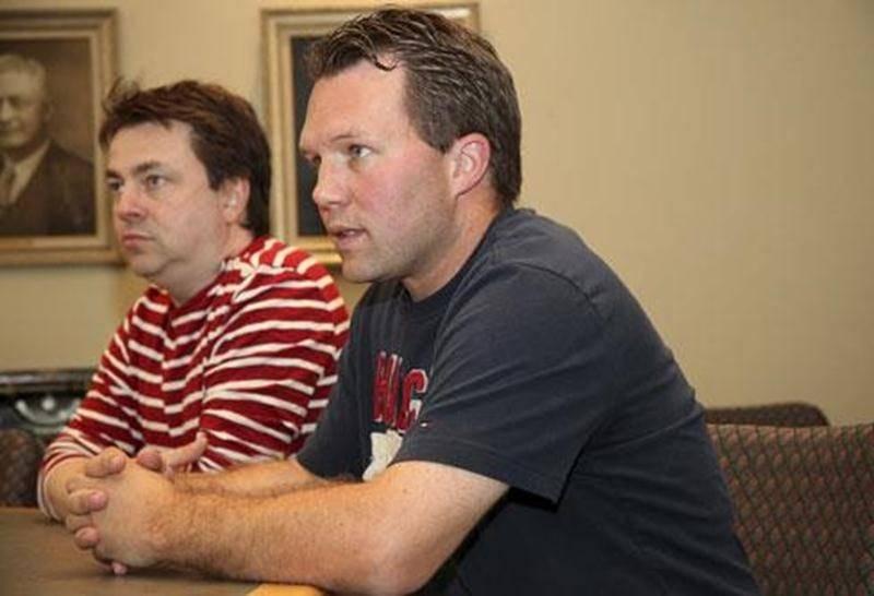 Patrick Arcand et Stéphane Donais se disent impatients de débuter l'aventure de la Ligue de hockey junior AAA.