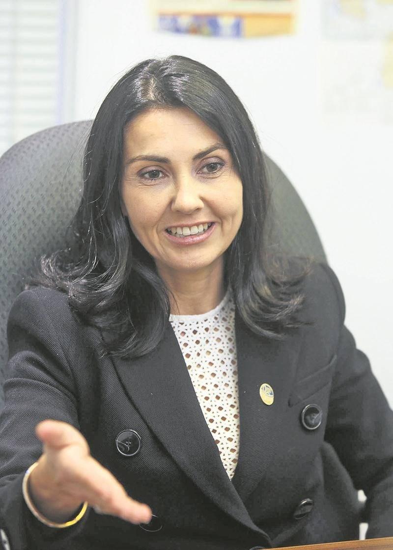 La députée caquiste, Chantal Soucy. Photo Robert Gosselin | Le Courrier ©